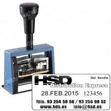Fechador Numerador DN65A - Medida: 65 x 30 mm