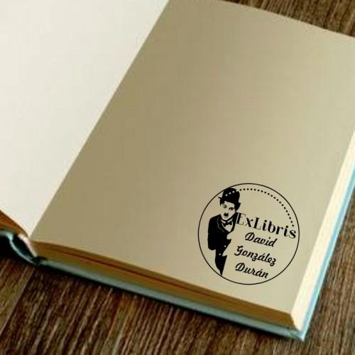 Libro Sello Charles Chaplin