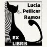 Ex libris gato negro