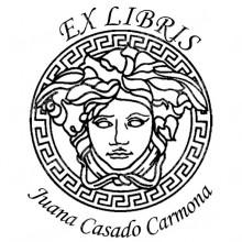 Ex Libris femme grecque