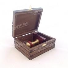 Boîte en bois pour sceller Decodesk