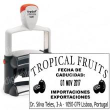 Fechador Trodat Professional 5480 - Medida: 68 x 47 mm