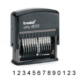 Numerador Automático 13 cifras sin placa